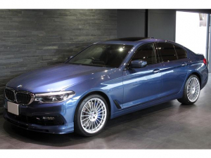 BMWアルピナ D5 S リムジン オールラッド アルピナブルー モカレザー サンルーフ ACC オールレザーインテリア harman/kardon ソフトクローズドア ワンオーナー OP200マン