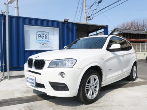 BMW X3 xDrive 20i MSP前期最終モデル iDrive