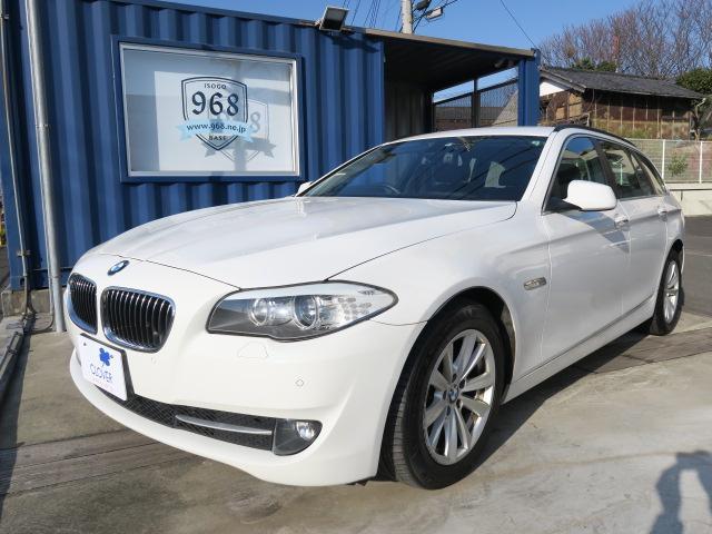BMW人気のF11からディーゼルモデルが入庫です! 故障の少ないディーゼルモデルは末永く乗るのにうってつけな一台です!