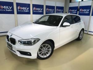 BMW 1シリーズ 118i 純正iDRUVEナビ LEDヘッドライト アイドリングストップ パークディスタンス
