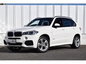BMW X5 xDrive 35i Mスポーツ 正規認定中古車 パノラマサンルーフ セレクトパッケージ ブラックレザー シートヒーター クルコン SOSコール 衝突軽減 車線逸脱警告 前後障害物センサー ナビ ETC Bluetooth接続 地デジ