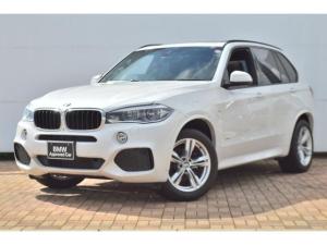 BMW X5 xDrive 35d Mスポーツ 正規認定中古車・サンルーフ・リアシートヒーター・クルーズコントロール・モカレザーシート・電動リアゲート・電動格納ミラー・アイドリングストップ・エコカー減税対象車・純正HDDナビゲーション
