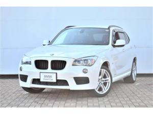 BMW X1 xDrive 20i Mスポーツ 正規認定中古車 コンフォートアクセス キセノン レインセンサー 自動ライト マルチファンクション ETC ドアバイザー AUX端子 禁煙車 タイヤ5部山 オートエアコン 18インチアロイ ランフラット