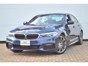 BMW 5シリーズ 523d Mスポーツ 正規認定中古車 被害軽減ブレーキ・アンビエントライト・追従型クルーズコントロール・ハイビームアシスト・ヘッドアップディスプレイ・電動シート・レーンチェンジワーニング