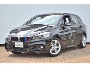 BMW 2シリーズ 218iアクティブツアラー Mスポーツ 正規認定中古車 被害軽減ブレーキ 車線逸脱警告 ヘッドアップディスプレイ ACC リアカメラ 前後ソナーセンサー 純正HDDナビ