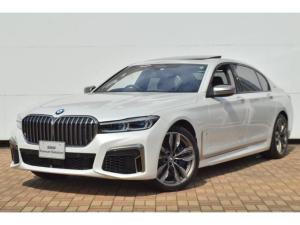BMW 7シリーズ M760Li xDrive 正規認定中古車 スカイラウンジ エグゼクティブラウンジシート ダイヤモンドサウンド 前後マッサージ ナイトビジョン リアエンターテインメント シートヒーターエアコン レーザーライト ディスプレーキー