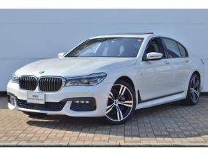 BMW 7シリーズ 740i Mスポーツ 正規認定中古車 ワンオーナー 電動ガラスサンルーフ タッチパネル式HDDナビ 全席シートヒーター 電動シート ACC 前後ソナーセンサー 全方位カメラ HarmanKardonスピーカー
