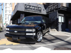 シボレーサバーバン 新車並行 本革レザーベンチシート 99最終モデル 1ナンバー
