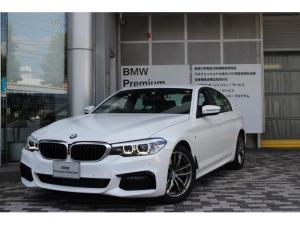 BMW 5シリーズ 523d xDrive Mスピリット 認定中古車 全国2年保証付 距離無制限 フルタイム4DW クリーンディーゼル18インチアルミホイールiドライナビゲーション ブルーツース SOS機能搭載 コネクティッドドライブバックミラー内蔵型ETC
