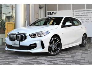 BMW 1シリーズ 118i Mスポーツ 18インチアルミホイールiドライナビゲーションヤナセサービスレンタカー ブルーツース SOS機能搭載 コネクティッドドライブ バックミラー内蔵型ETC パークディスタンスコントロール