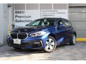 BMW 1シリーズ 118i スタンダード 16インチアルミホイール iDrive(ID7)ナビゲーション  オートホールド(一時停止時自動サイドブレーキ作動)