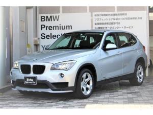 BMW X1 sDrive 18i グレイシャーシルバー 純正ナビゲーションシステム バックカメラ・センサー付