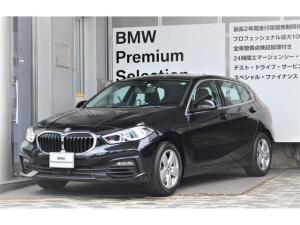BMW 1シリーズ 118i プレイ 認定中古車・全国2年保証・純正ナビゲーションシステム10.25インチライブコックピット・コンフォートP・ストレージP・16AW