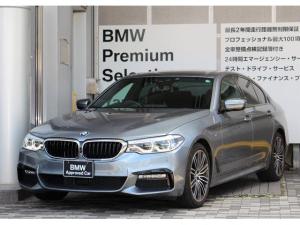 BMW 5シリーズ 523i Mスポーツ 認定中古車  全国1年保証距離無制限  黒革シート ポプラグレーウッドトリム  ハイラインP 19AW