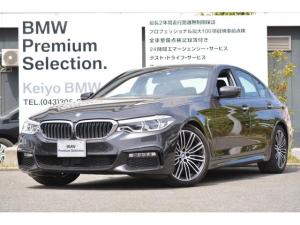 BMW 5シリーズ 523d Mスポーツ 弊社試乗車 ACC 19インチAW