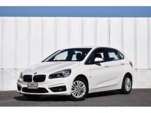 BMW 2シリーズ 218dアクティブツアラー ラグジュアリー X-drive 電動シート ブラックレザー LEDライト 純正HDDナビ Bカメラ コンフォートA 衝突軽減ブレーキ シートヒーター