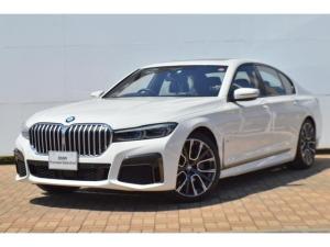 BMW 7シリーズ 740i Mスポーツ デモカー レーザーライト ディスプレイキー サンルーフ 20インチAW 地デジ harman/kardon