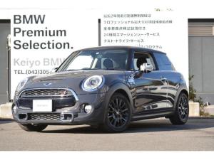 MINI クーパーS 3ドア 認定中古車 LEDライト 純ナビ ETC