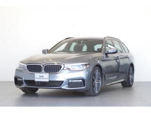 BMW 5シリーズ 523iツーリング Mスポーツ 正規認定中古車 2年保証 弊社デモカー HDDナビ トップビューカメラ アダプティブLEDヘッドライト アクティブクルーズコントロール