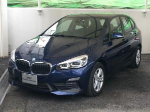 BMW 2シリーズ 218dアクティブツアラー 正規認定中古車 2年保証 弊社デモカー HDDナビ リアビューカメラ LEDヘッドライト