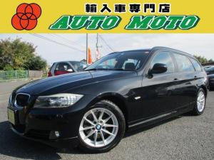 BMW 3シリーズ 320iツーリング 純正HDDナビ 後期モデル DVD再生 CD録音 HIDライト ETC AUX パワーシート スマートキー