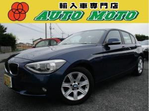BMW 1シリーズ 116i 保証付 ポータブルナビ ワンセグ ETC アイドリングSTOP HIDライト フォグランプ 純正16アルミ マニュアルモード キーレス プッシュスタート