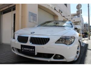 BMW 6シリーズ 650iカブリオレ ベージュ革 右ハンドル 19AW 地デジ