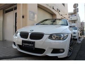 BMW 3シリーズ 335iカブリオレMスポーツ 後期 黒革 右ハンドル19AW
