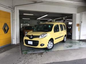 ルノー カングー ゼン EDC ナビ ETC オプション装備車両 新車保証継承