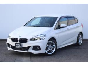 BMW 2シリーズ 218dアクティブツアラー Mスポーツ ブラックレザー・Fシートヒーター・リヤカメラ・リヤPDC・純正ETCミラー・純正17インチAW