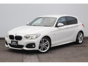 BMW 1シリーズ 118i Mスポーツ ワンオーナー・コンフォートアクセス・被害軽減ブレーキ・車線逸脱警告・リヤカメラ・リヤPDC・オートクルーズ・純正18AW