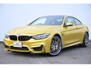 BMW M4 M4クーペ コンペティション ブラックレザー・前シートヒーター・アダプティブLED・アダプティブMサス・レーンチェンジワーニング・オートクルーズ・TV・HUD・harmankardon・カーボンセラミックブレーキ・純正20AW