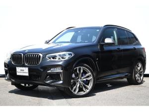 BMW X3 M40d モカレザー・前後シートヒーター・Mデフ・Mスポーツブレーキ・コンフォートA・アダプティブLEDライト・TV・HUD・パノラマサンルーフ・harman kardon・ドラレコ・純正21AW