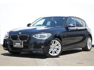 BMW 1シリーズ 116i Mスポーツ I-driveナビ・コフォートA・リヤカメラ・リヤPDC・キセノン・純正ETCミラー・純正17AW