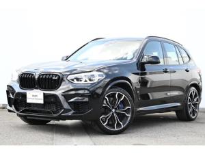 BMW X3 M コンペティション ブラックレザー・前後シートヒーター・アクティブベンチレーションシート・アダプティブLED・TV・HUD・harmankardon・ジェスチャーコントロール・ディスプレーキー・Mシートベルト純正21AW