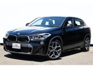 BMW X2 xDrive 18d MスポーツX ハイラインパック ブラックレザー・コンフォートA・オートトランク・リヤカメラ・前後PDC・Fシートヒーター・Dアシスト+・ACC・HUD・アドバンストPKG・コンフォートPKG・ハイラインPKG・純正19AW