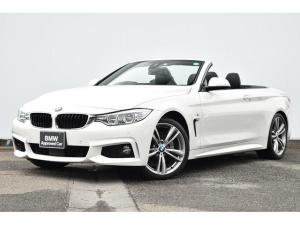 BMW 4シリーズ 435iカブリオレ Mスポーツ ブラツクレザー・Fシートヒーター・バリアブルスポーツステア・コンフォートA・リヤカメラ・前後PDC・アダプティブLED・Dアシスト・ACC・TV・HUD・HIFIスピーカー・純正19AW