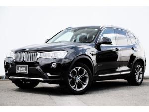 BMW X3 xDrive 20i Xライン ワンオーナー・コンフォートアクセス・オートトランク・リヤ/トップビュー・前後PDC・キセノン・Dアシスト+・レーンチェンジワーニング・ACC・地デジTV・ドラレコ・純正18AW
