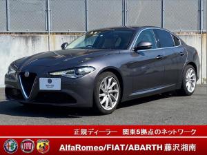アルファロメオ ジュリア 当店試乗車 新車保障継承CarPlayAndroidAuto