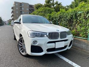 BMW X4 xDrive 35i Mスポーツ アクティブクルーズコントロール ガラスSR ブラックレザー 1オーナー