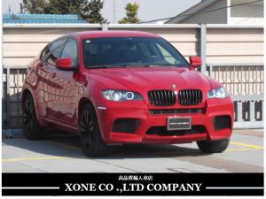 BMW X6 M ベースグレード ディーラー車 HDDナビ 左H バックカメラ