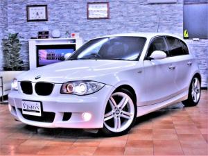 BMW 1シリーズ 116i Mスポーツパッケージ LCIモデル 6速AT M-sports専用エアロ インテリア スポーツサス 純正OP18AW HDDナビ バックカメラ ETC キセノン プッシュスタート 115ps 15.3kg 取説保証書Sキー