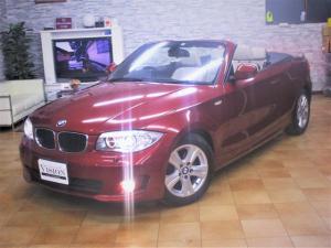 BMW 1シリーズ 120i カブリオレ ハイラインパッケージ E88最終モデル 直噴170ps パドル付6AT 1オナ ベージュ幌&ヒーター付本革パワーシート LEDライトエレメント付バイキセノン エアカーテン 社外ナビ TV バックカメラ ETC 取保Sキー