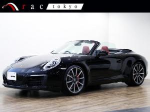 ポルシェ 911 911カレラS カブリオレ 右ハンドル 1オ-ナ- スポークロノパッケージ スポーツエグゾーストシステム ACC エントリー&ドライブ GTスポーツステアリング 20インチアルミ ACC エントリー&ドライブ 電動格納ミラー