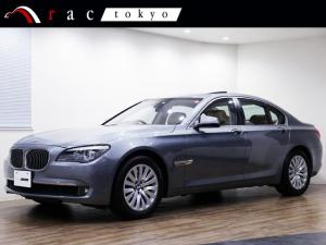 BMW 7シリーズ 750i 右ハンドル コンフォ-トパッケージ プラスパッケージ サンル-フ ベンチレーター ソフトクローズドア オートトランク 電動ブラインド ブラックレザー