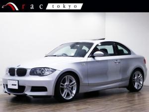 BMW 1シリーズ 135i 正規ディーラー記録簿6枚/サンルーフ/右ハンドル/オリジナル/1オーナー/Mスポーツパッケージ/18インチアルミ/シートヒーター/ハイグロスシャドーライン/ブラックレザー/
