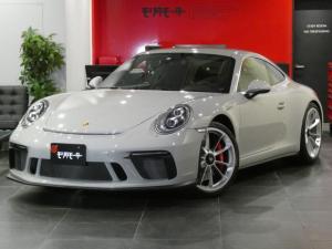ポルシェ 911 911GT3 ツーリングパッケージ 正規ディーラー車両 2019y 走行658km 外装色クレヨン スポーツバケットシート スポーツクロノPKG スポーツエグソースト Fリフティング PDLS付LEDヘッドライト 自動防眩ミラー Rカメラ サーキット未走行