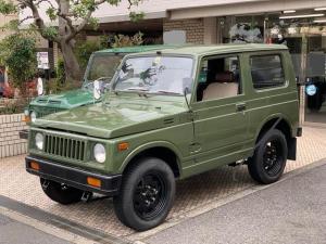 スズキ ジムニー VC 2ストローク 4WD マニュアル4速 取扱説明書あり