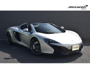 マクラーレン 650S スパイダー 左H McLaren Qualified Tokyo 12カ月認定保証 スポーツエグゾースト 車両リフト 電動メモリーシート シートヒーター パーキングアシスト リアカメラ