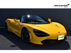 マクラーレン 720S  右ハンドル McLaren Qualified Tokyo 12カ月認定保証付き フロントリフト リアパーキングカメラ パーキングアシスト ステルスフィニッシュホイール